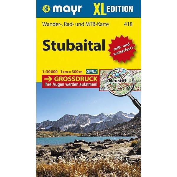 Stubaital XL  1:30 000 - Wanderkarte