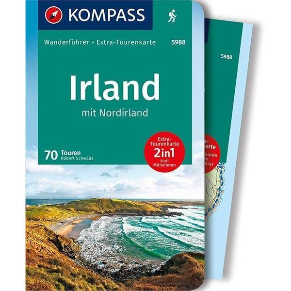 KOMPASS Wanderführer Irland mit Nordirland - Wanderführer