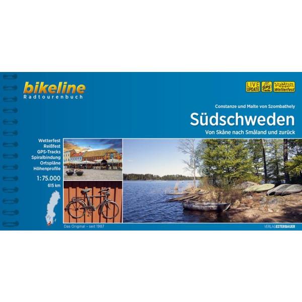 Südschweden 1:75.000 - Radwanderführer