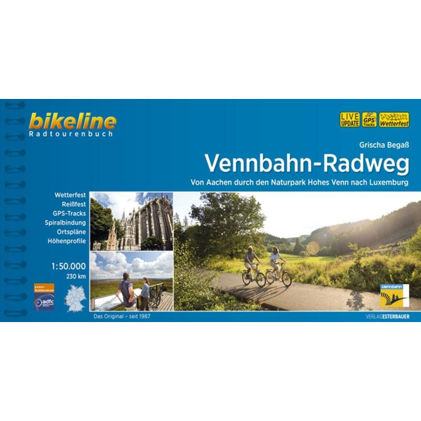 Vennbahn-Radweg 1:50.000 - Radwanderführer