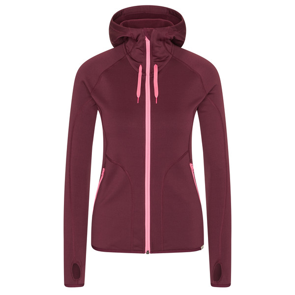 FRILUFTS SJUNKHATTEN HOODED FLEECE JACKET Frauen - Fleecejacke