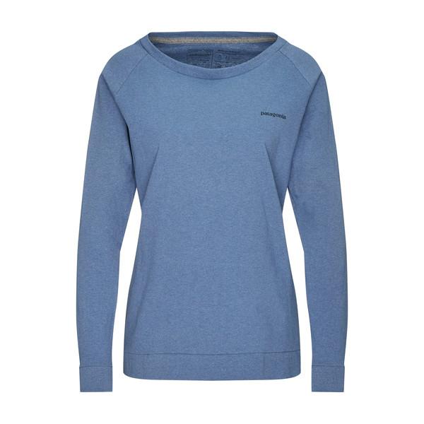 Patagonia W' S L/S PAPER PEAKS RESPONSIBILI-TEE Frauen - Langarmshirt