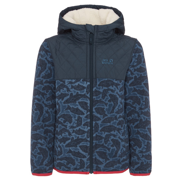 Jack Wolfskin NORDIC HOODED JACKET Kinder - Fleecejacke