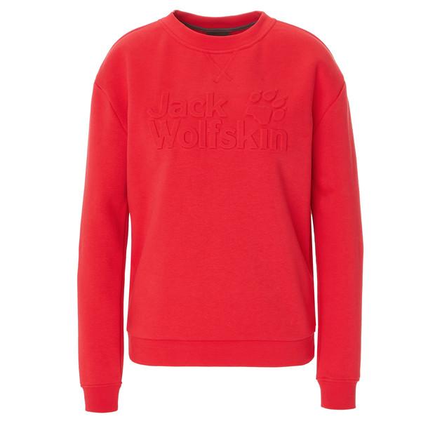 Jack Wolfskin WINTER LOGO SWEATSHIRT W Frauen - Sweatshirt