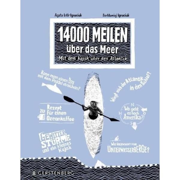 14000 Meilen über das Meer - Kinderbuch