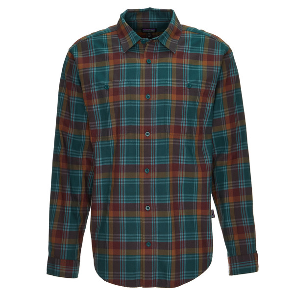Patagonia M' S L/S PIMA COTTON SHIRT Männer - Outdoor Hemd