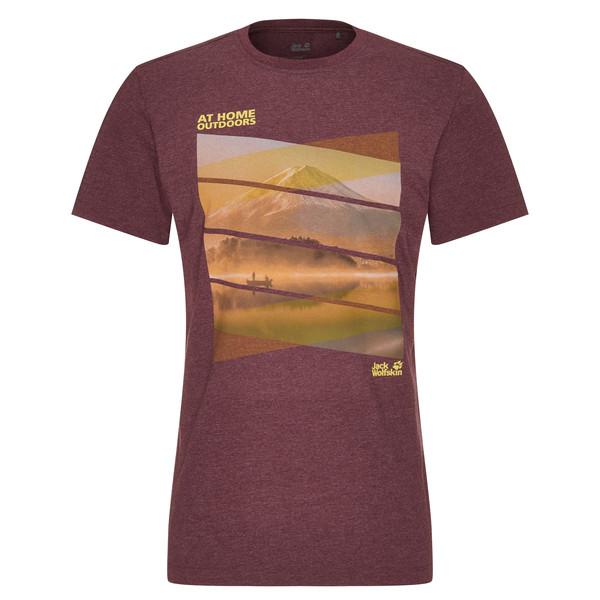 Jack Wolfskin MOTOSU LAKE T M Männer - T-Shirt