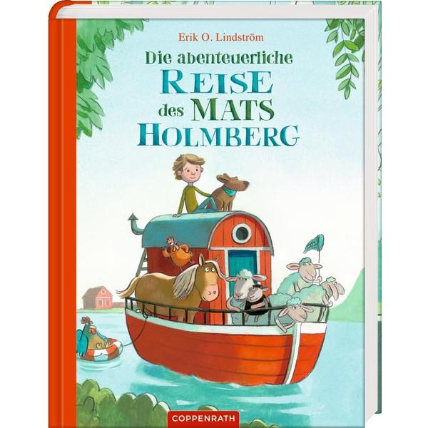Die abenteuerliche Reise des Mats Holmberg - Kinderbuch