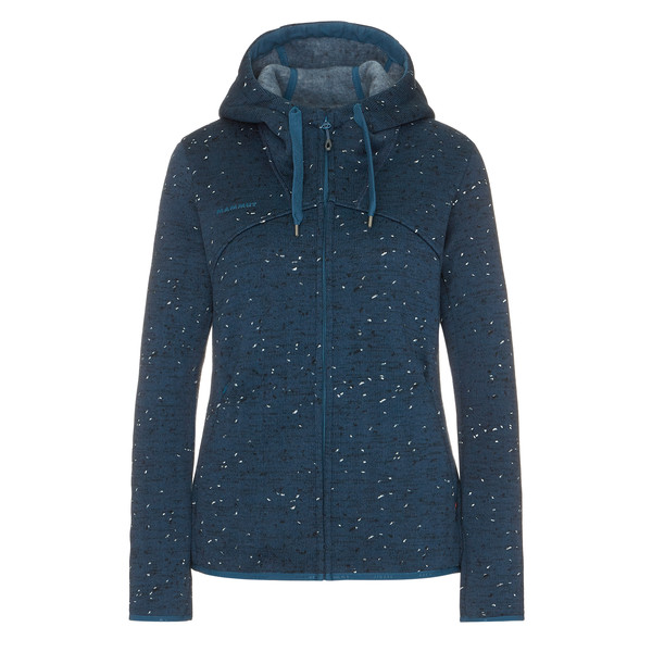 Mammut CHAMUERA ML HOODED JACKET WOMEN Frauen - Fleecejacke
