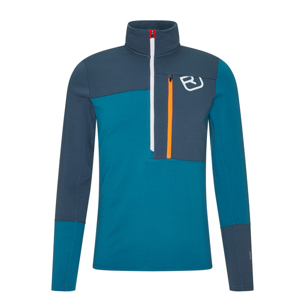 Ortovox FLEECE LIGHT ZIP NECK M Männer - Fleecepullover