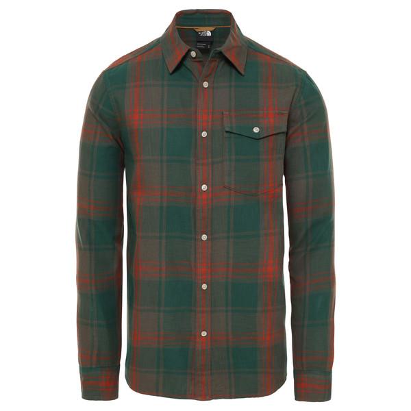 The North Face M LS OSTRANDER SHIRT Männer - Outdoor Hemd