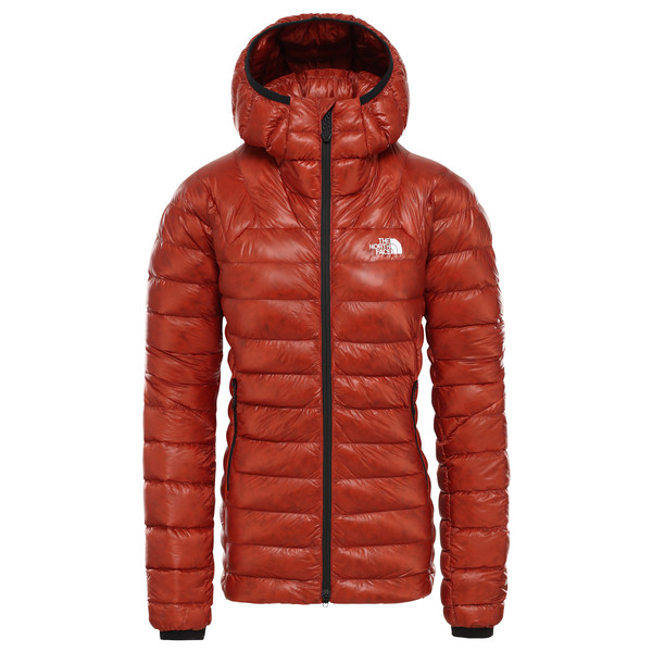 The North Face Women's Summit L3 Down Hoodie Daunenjacke Picante Red Picante Red | XS