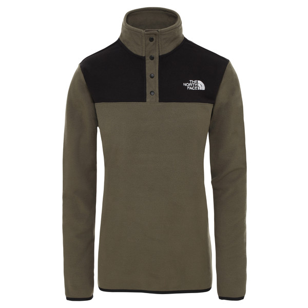The North Face W TKA GLACIER SNAP-N Frauen - Fleecepullover