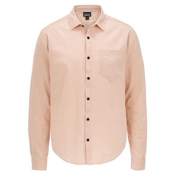 Patagonia M' S L/S ORGANIC COTTON SLUB POPLIN SHIRT Männer - Outdoor Hemd