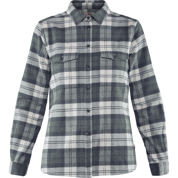 Fjällräven ÖVIK HEAVY FLANNEL SHIRT W Frauen - Outdoor Bluse