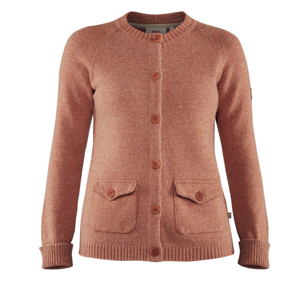 Fjällräven GREENLAND RE-WOOL CARDIGAN W Frauen - Wollpullover
