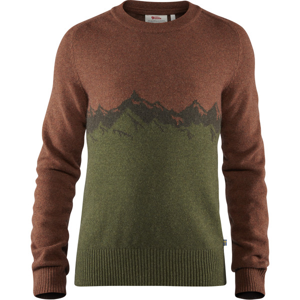 Fjällräven GREENLAND RE-WOOL VIEW SWEATER M Männer - Wollpullover