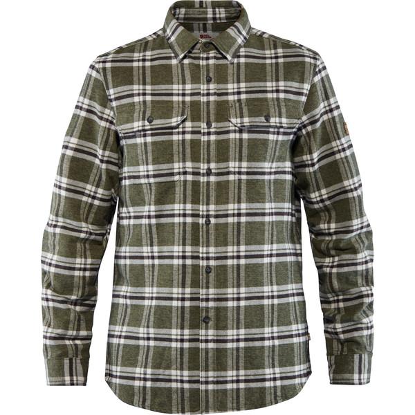 Fjällräven ÖVIK HEAVY FLANNEL SHIRT M Männer - Outdoor Hemd