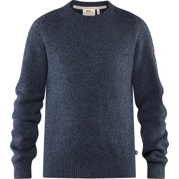 Fjällräven GREENLAND RE-WOOL CREW NECK M Männer - Wollpullover