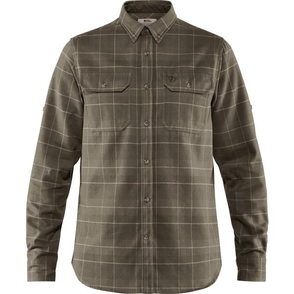 Fjällräven SINGI HEAVY FLANNEL SHIRT M Männer - Outdoor Hemd