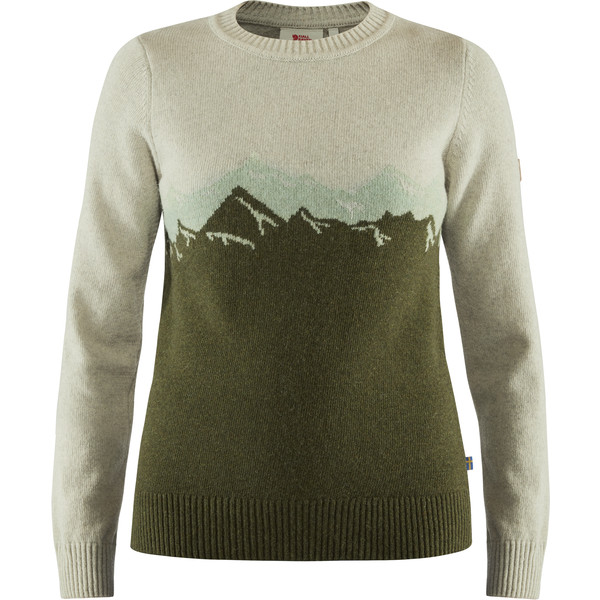 Fjällräven GREENLAND RE-WOOL VIEW SWEATER W Frauen - Wollpullover