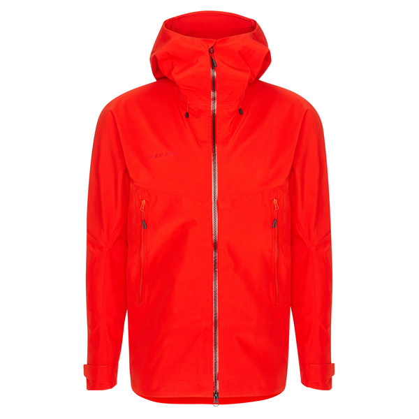 Mammut CRATER HS HOODED JACKET MEN Männer - Regenjacke