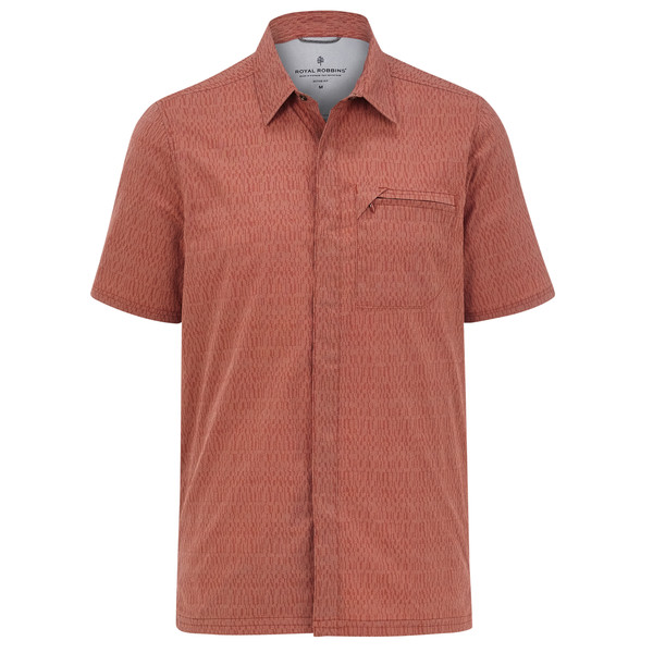 Royal Robbins MISSION DOBBY S/S Männer - Outdoor Hemd