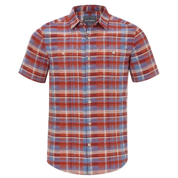 Royal Robbins SLAB CITY DOBBY S/S Männer - Outdoor Hemd
