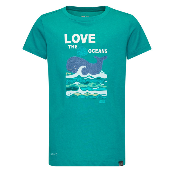 Jack Wolfskin OCEAN T KIDS Kinder - T-Shirt