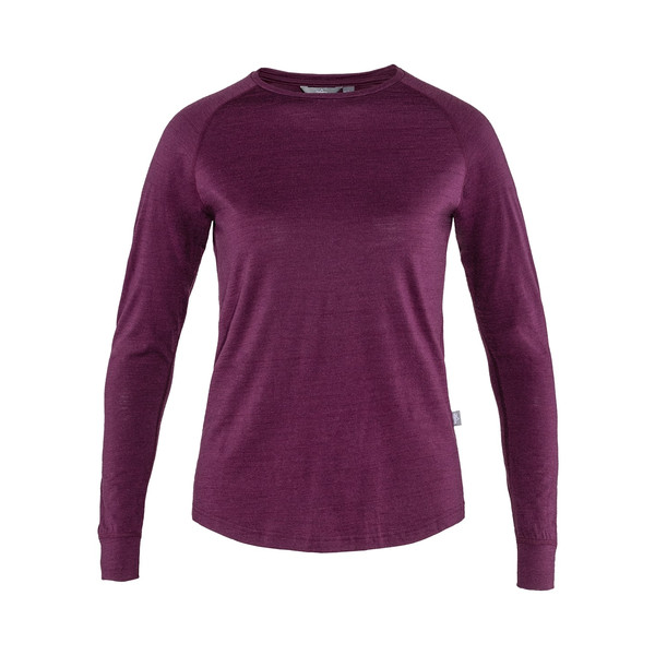 Tierra WOOLPA LS TEE W Frauen - Langarmshirt