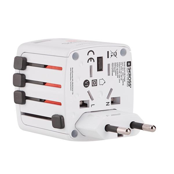 SKROSS WORLD USB CHARGER Unisex - Reisestecker