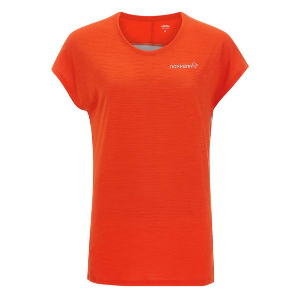 Norröna BITIHORN WOOL T-SHIRT Frauen - Funktionsshirt