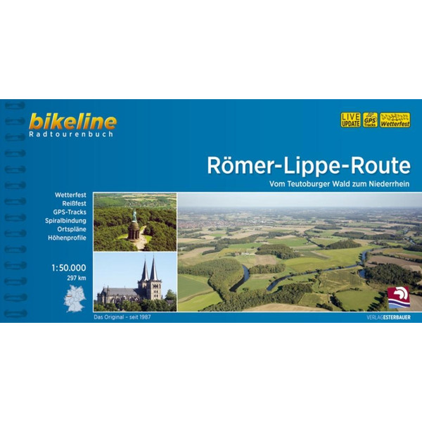 Römer-Lippe-Route 1 : 50 000 - Radwanderführer
