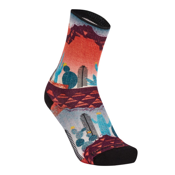 Smartwool WOMEN' S PHD OUTDOOR LIGHT PRINT CREW Frauen - Wandersocken