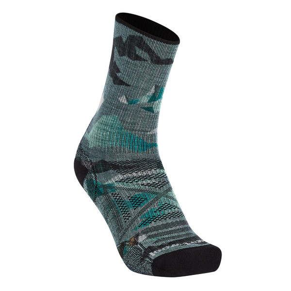Smartwool PHD OUTDOOR LIGHT MOUNTAIN CAMO PRINT CREW Unisex - Wandersocken