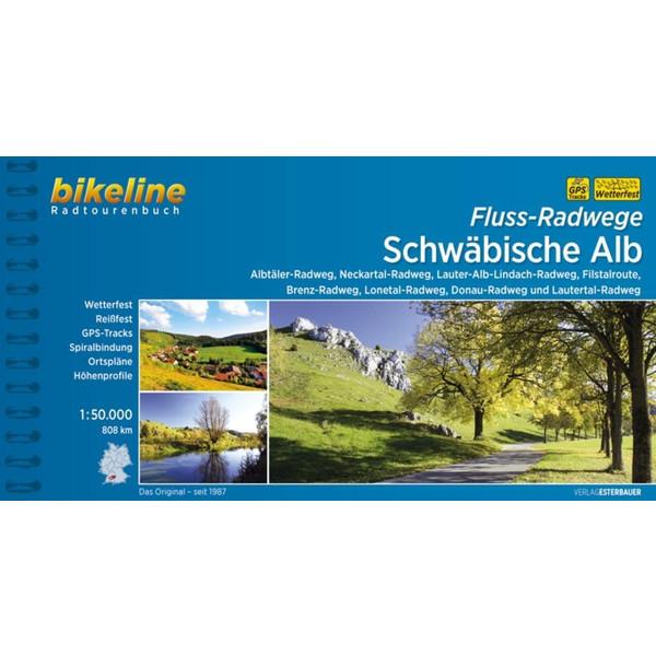 Fluss-Radwege Schwäbische Alb 1 : 50 000 - Reiseführer