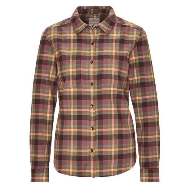 Royal Robbins LIEBACK FLANNEL L/S Frauen - Outdoor Bluse