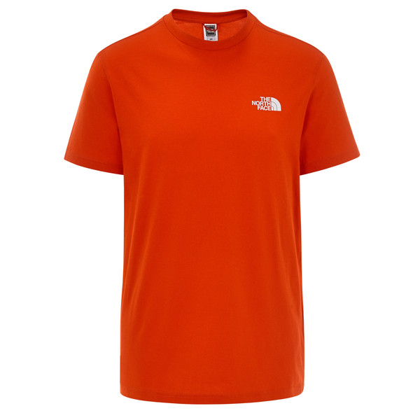 The North Face M S/S SIMPLE DOME TE Männer - T-Shirt