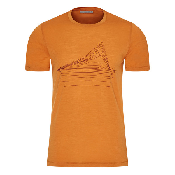 Icebreaker MENS TECH LITE SS CREWE HEATING UP Männer - Funktionsshirt