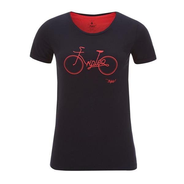 Triple2 TUUR NUL -  ORGANIC COTTON JERSEY WOMEN - BIKE Frauen - T-Shirt