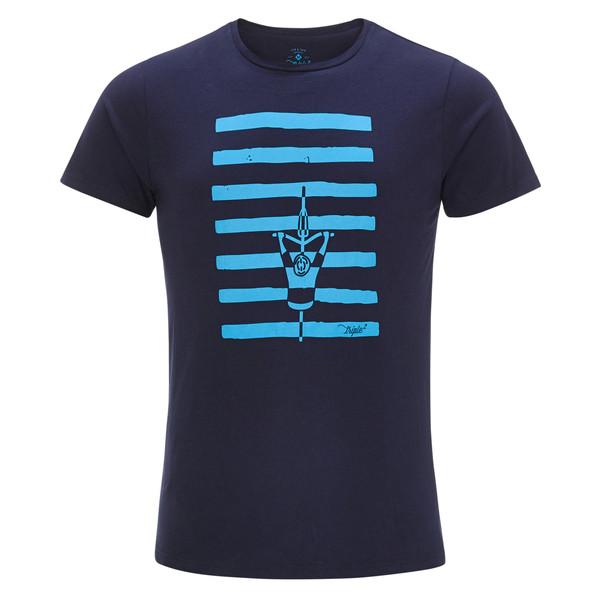 Triple2 TUUR NUL - ORGANIC COTTON JERSEY MEN - CROSSWALK Männer - T-Shirt