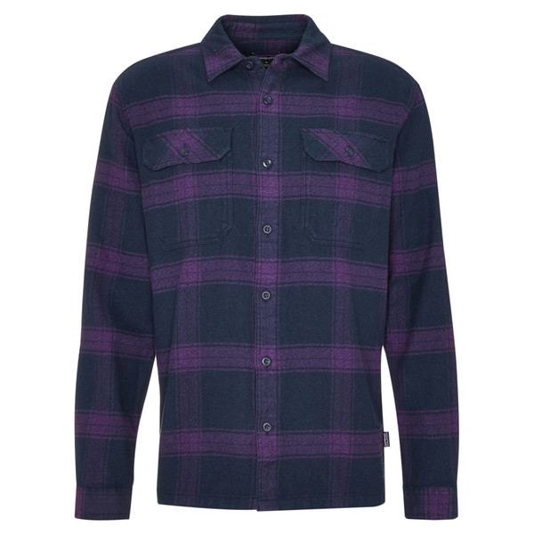 Patagonia M' S L/S FJORD FLANNEL SHIRT Männer - Outdoor Hemd