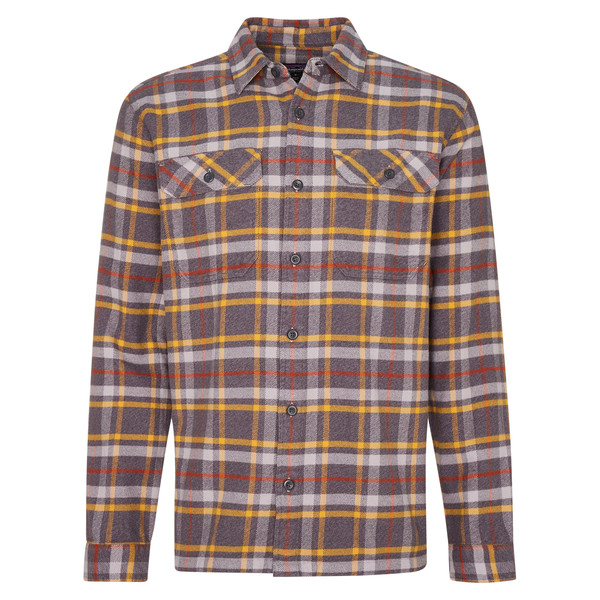 Patagonia M' S L/S FJORD FLANNEL SHIRT Männer - Outdoor Hemd