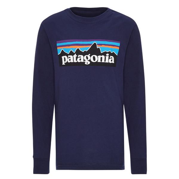 Patagonia BOYS'  L/S GRAPHIC ORGANIC T-SHIRT Kinder - Langarmshirt
