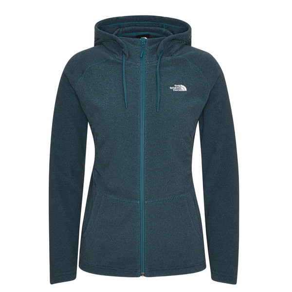 The North Face W MEZZALUNA  FULL ZIP  HOODIE - EU Frauen - Fleecejacke