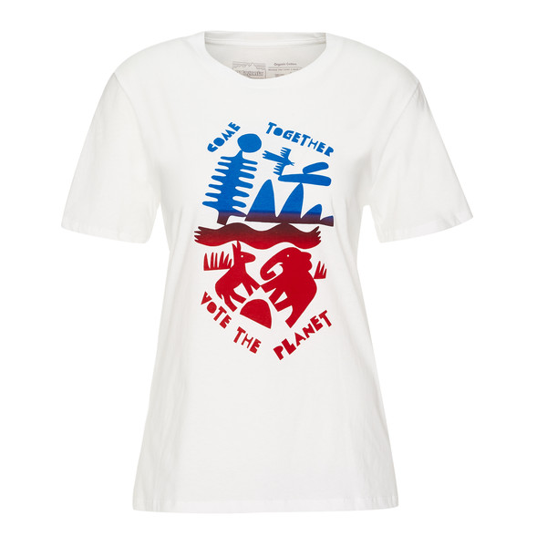 Patagonia W' S TOGETHER FOR THE PLANET ORGANIC CREW T-SHIRT Frauen - T-Shirt