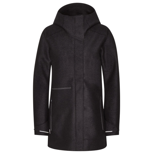 Icebreaker WMNS AINSWORTH HOODED JACKET Frauen - Wolljacke