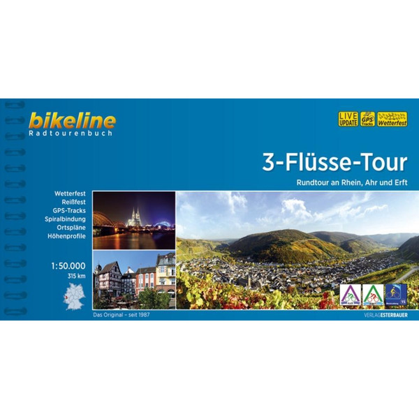 3-Flüsse-Tour - Radwanderführer