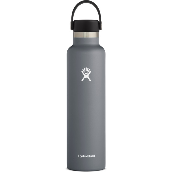 Hydro Flask 24 OZ STANDARD MOUTH WITH STANDARD FLEX CAP STONE - Trinkflasche