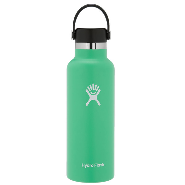 Hydro Flask 18 OZ STANDARD MOUTH WITH STANDARD FLEX CAP SPEARMINT - Trinkflasche